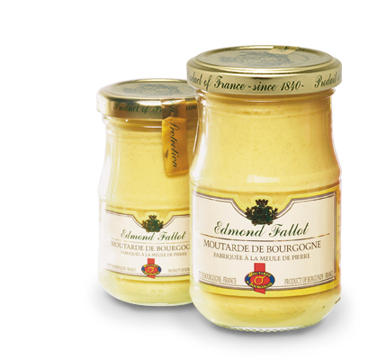 Mustard produced by Burgundy's La Moutardarie Fallot