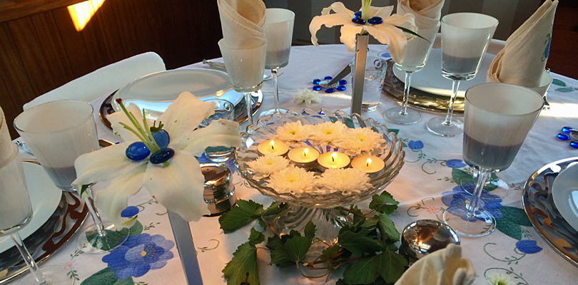 Esperance artistic nightly table settings