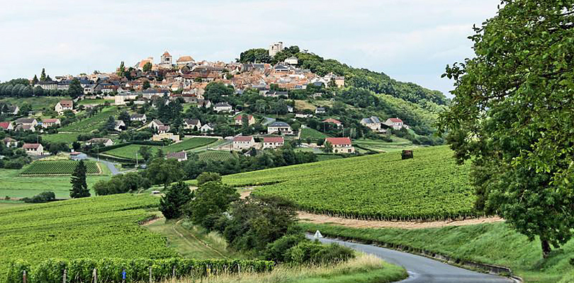 Beautiful hilltop village of Sancerre