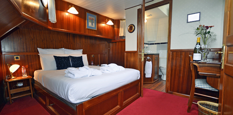 La Belle Epoque spacious double cabins