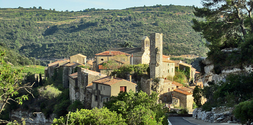 Cathar hilltop village of Minerve