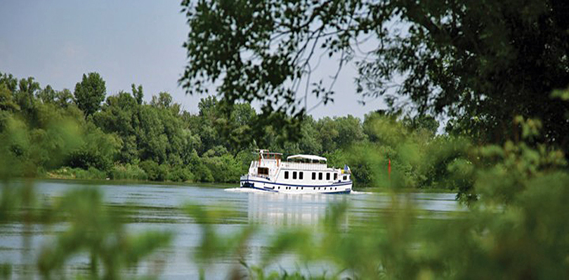 Napoleon cruising on Rhone River