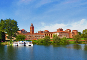 The beautiful city and gardens of Mantua
