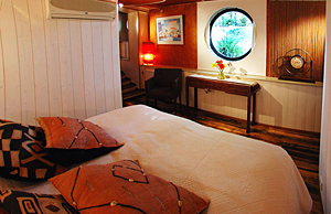 All staterooms have king or twin beds