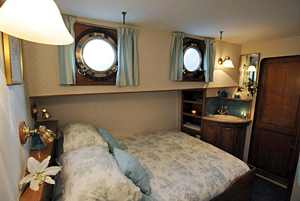 Papillon double stateroom