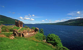 Loch Ness and the highlands aboard barge Scottish Highlander