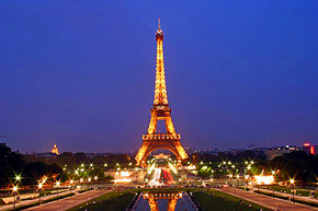 Paris, the beautiful and intriguing 'City of Light'.