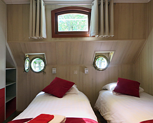 Johanna cabin with twin beds