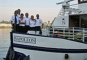 Napoleon friendly and helpful crew