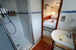 All ensuite cabins on L'Art de Vivre