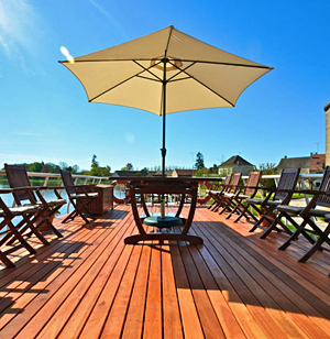 Luciole large deck lounge