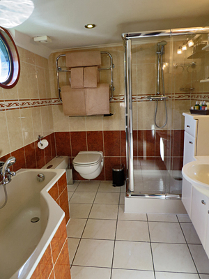 Prosperite tiled ensuite bathrooms