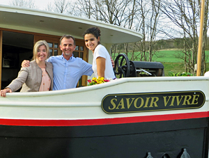 Savoir Vivre tour guide, captain and hostess