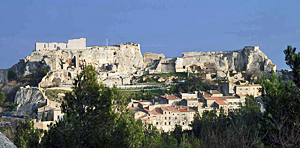 Visiting Les Baux in Provence