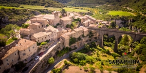 The hilltop village of Minerve is one of the excursions on Saraphina